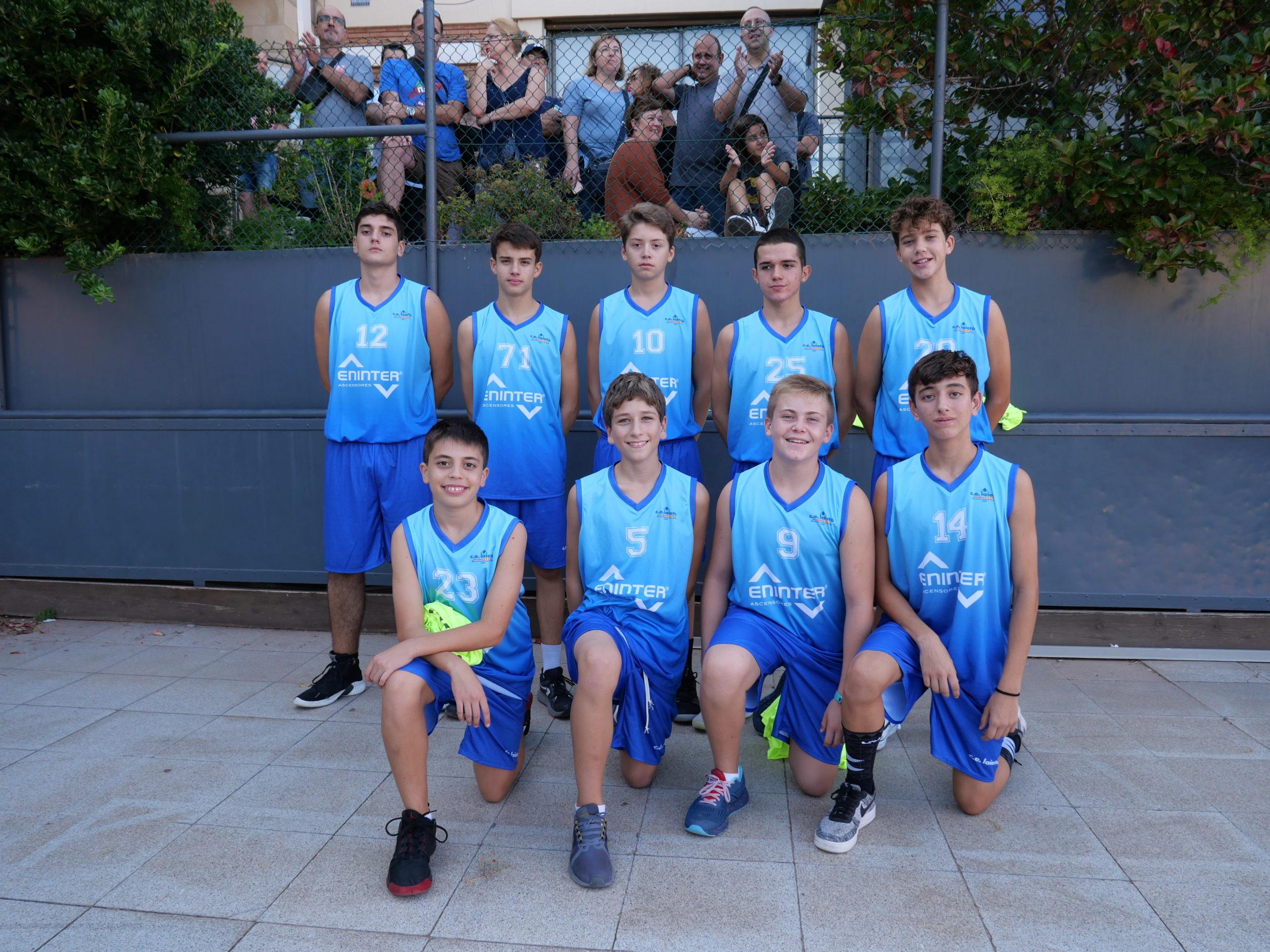 Bàsquet ... coneguem el Cadet 05 Blau i el Cadet 05 Blanc