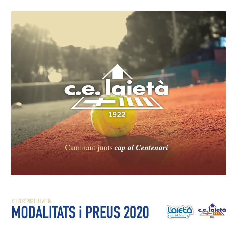 Ja ha estat publicat el nou catàleg de Modalitats i Preus 2020