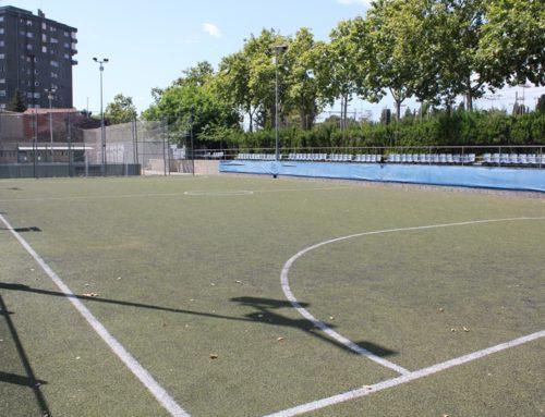 Canvi de l'enllumenat del camp de futbol per il·luminació LED