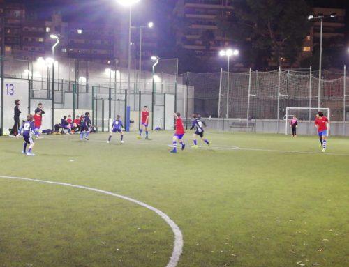 Nova victòria de l'Infantil de futbol sala, en un partit bastant descontrolat