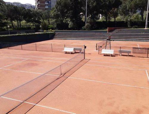 Renovació integral de les pistes de tennis 7, 15 i 16