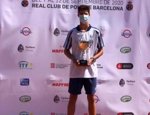 Xavi Matas, Campió de l'ITF Junior 2º Open AENJ Barcelona