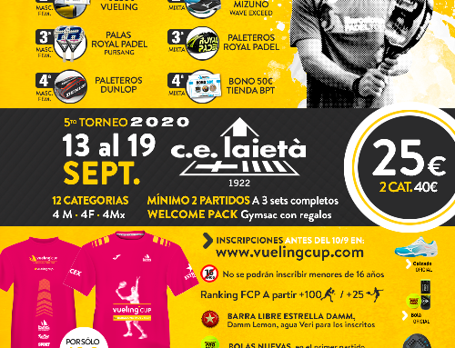 Torneig Vueling Cup by Barcelona Padel Tour 2020