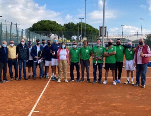 L'equip masculí +60 de tennis es proclama sots-campió d'Espanya