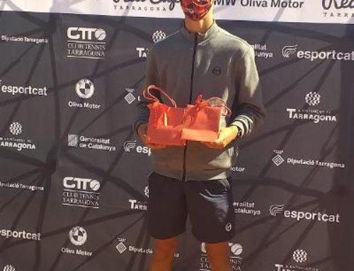 Xavi Matas campió de l'ITF Juniors Red Cup BMW al CT Tarragona