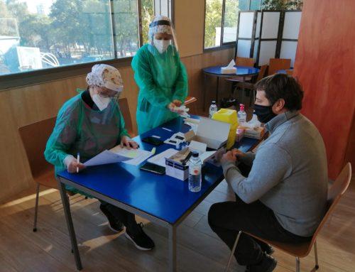 El Laietà efectua el test d'antígens als seus treballadors