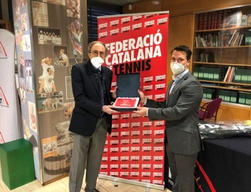 El Laietà és reconegut com a Club d'Excel·lència del Tennis Català