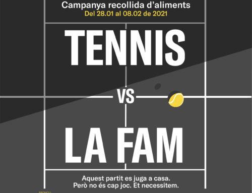 """Campanya solidària """"Tennis vs La Fam"""""""